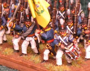 15mm, Napoleonic Dutch 2nd Line 1815 CGM 24 figures